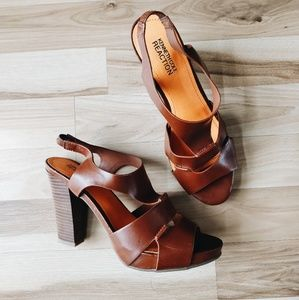 Kenneth Cole Leather Heels